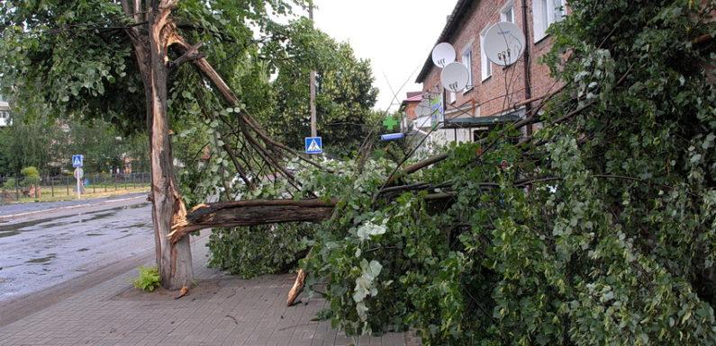 Негода наробила лиха в Ямполі