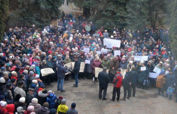 В Ямполі протестували проти закриття лікарні (відео)