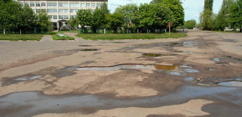 З 25 серпня почнеться поточний ремонт дороги біля Ямпільської школи №2
