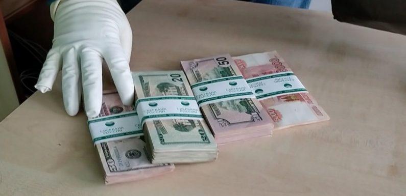 Провокація проти партії «Наш Край»: вночі проникли в офіс, підкинули пакет з грошима (ВІДЕО)