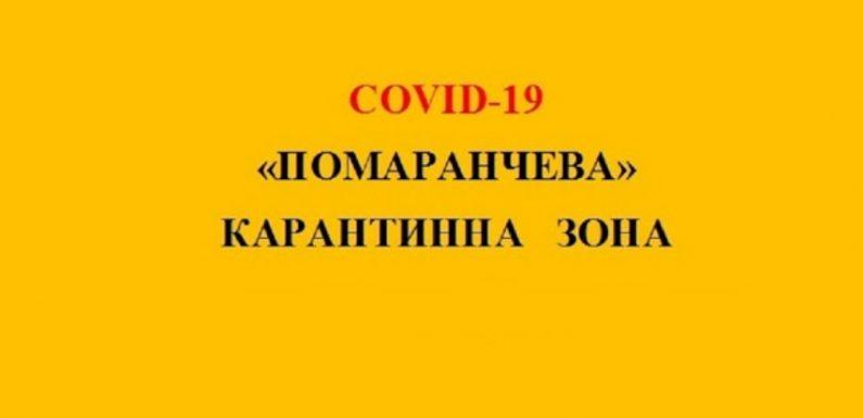 НА ЯМПІЛЬЩИНІ ВСТАНОВЛЕНО «ПОМАРАНЧЕВИЙ» РІВЕНЬ ЕПІДЕМІЧНОЇ НЕБЕЗПЕКИ ПОШИРЕННЯ COVID-19