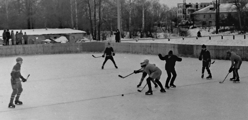 Сторінки історії. Яким був ямпільський хокейний майданчик 30 років тому