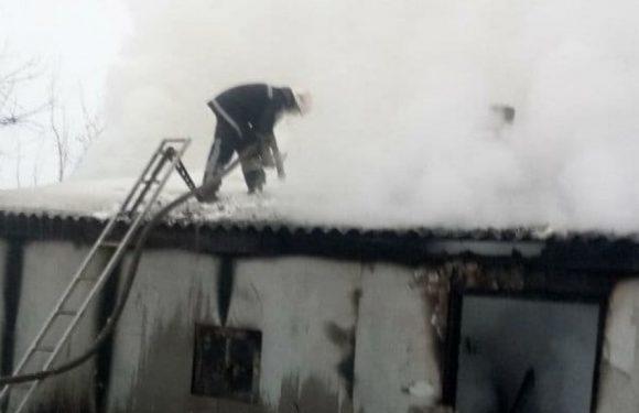 Рятувальники ліквідували загоряння господарчої споруди в Дружбі