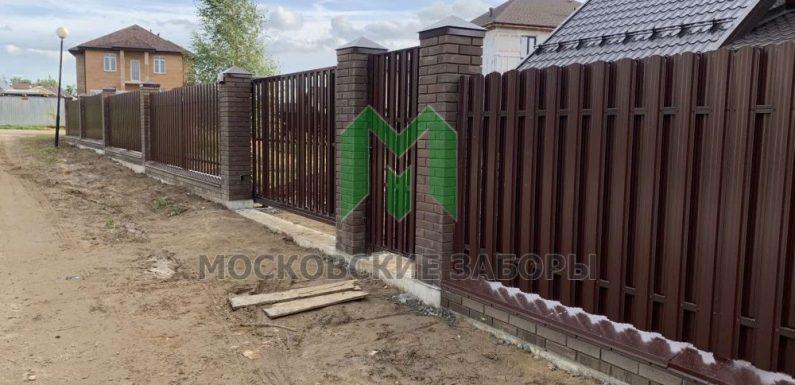 Где заказать забор в Москве?