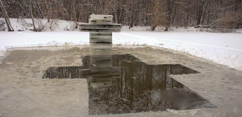 В Ямполі готувались до традиційних Хрещенських купань