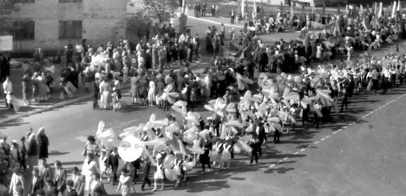 Як в Ямполі відзначали травневі свята понад 30 років тому