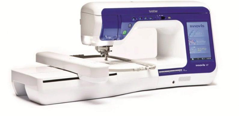 Возможности вышивальных и швейно-вышивальных машин