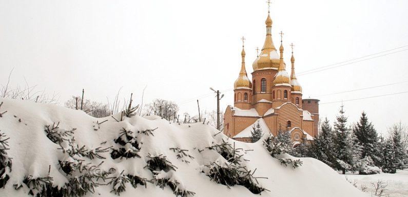 Ямпіль четверту добу бореться зі снігопадом