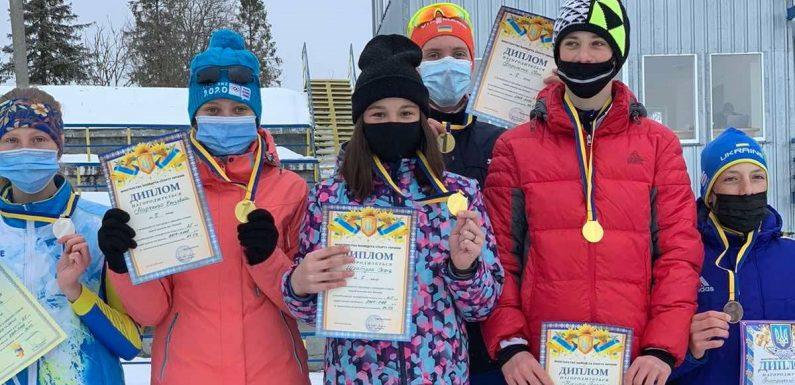 Вихованці Свеської філії  ДЮСШ «Дружба» вибороли 6 медалей на Чемпіонаті України з лижних гонок