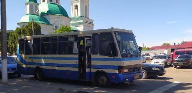 """Автобус """"Суми – Свеса"""" потрапив у ДТП в центрі Глухова, – ЗМІ"""