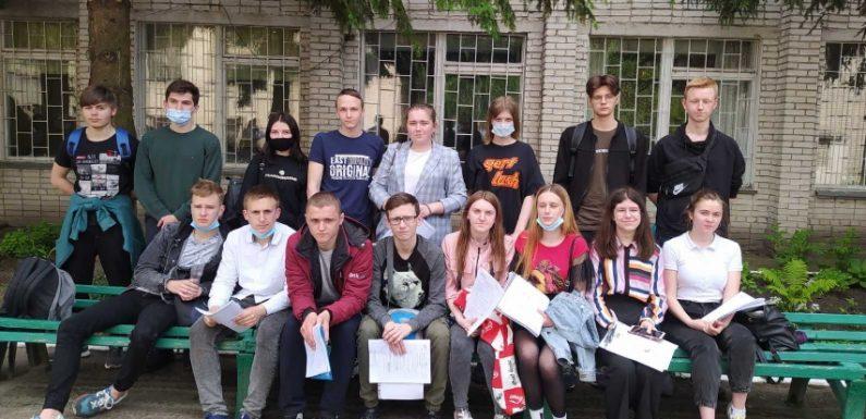Учні Свеської громади складали ЗНО з математики