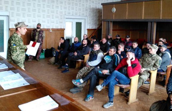 Ямпільські резервісти відправились на навчальні збори