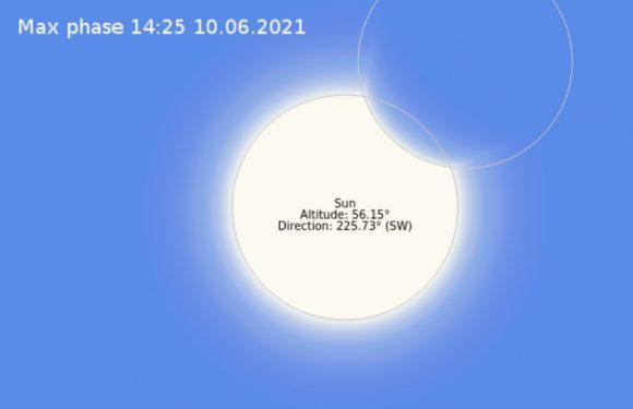 Сьогодні ямпільчани зможуть спостерігати часткове сонячне затемнення