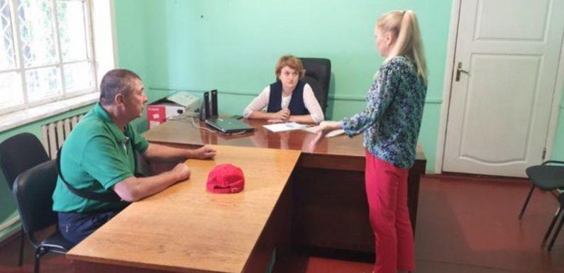 В Ямполі провели прийом фахівці Управління соціального захисту населення Шосткинської РДА