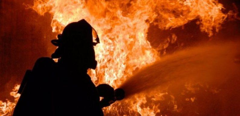 В Ямполі сталась пожежа по вулиці Бондарівка