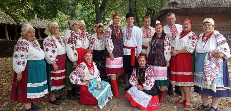 Фольклорний колектив «Паліївчанка» виступив в столиці