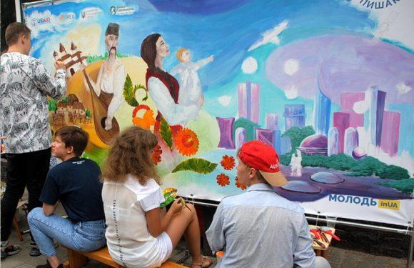 Ямпіль має шанс отримати мурал з малюнком місцевих художників – для перемоги в конкурсі потрібна наша підтримка