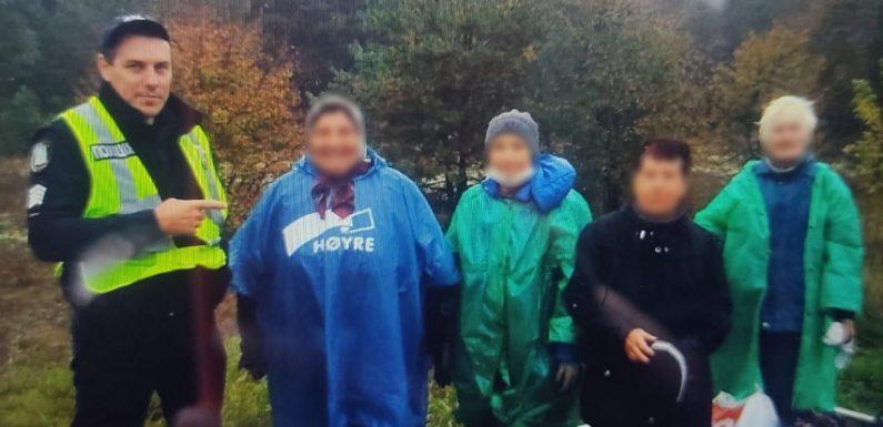 Неподалік Неплюєвого в лісі заблукали чотири літні жінки, які приїхали збирати гриби