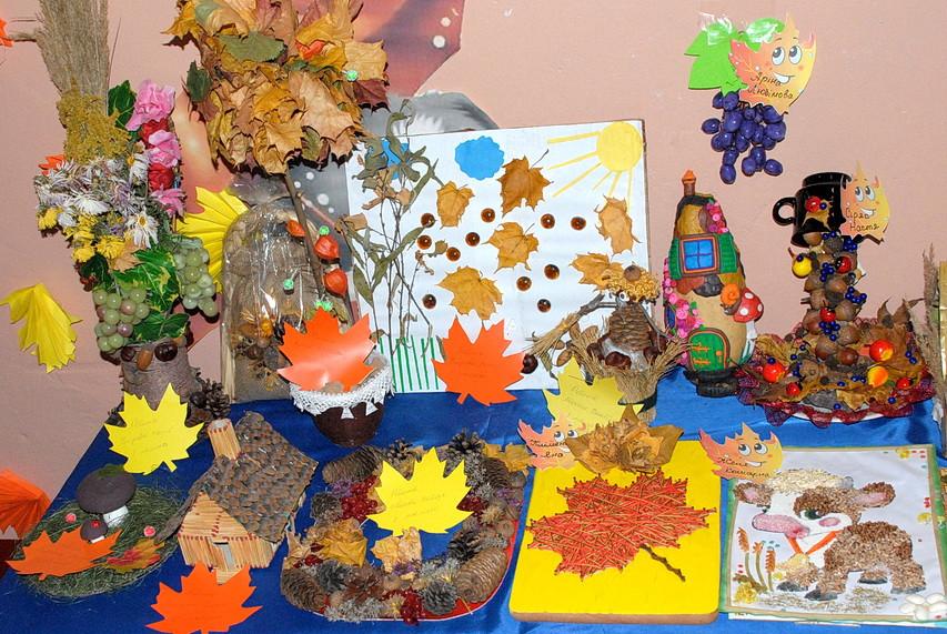 В ямпільському дитячому садку відкрилась виставка поробок