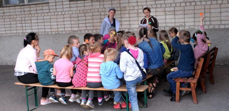 Одна з християнських церков проводить в Ямполі дитячий табір
