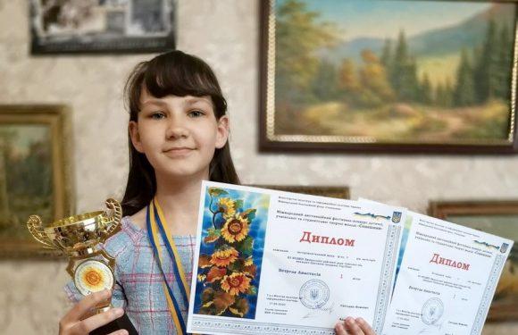 Вихованка Ямпільської музичної школи стала переможцем міжнародного фестивалю, що проходив дистанційно