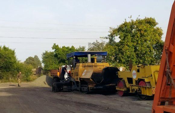 В Дружбі розпочався ремонт дороги