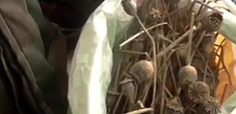 На Ямпільщині поліцейські вилучили у чоловіка наркотики