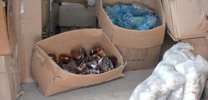 Ямпільчанин показує приклад роздільного збору сміття