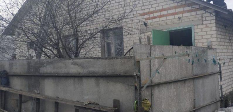 В Ямполі горів будинок на вулиці Гагаріна