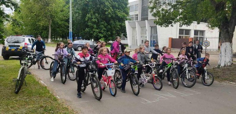 В Свесі провели дитячий велопробіг