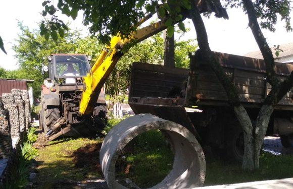 В Ямполі відновлюють водопостачання трьох вулиць та двох провулків
