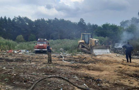 Пожежа на сміттєзвалищі в Ямполі розпочалась через підпал, – Ямпільська селищна рада