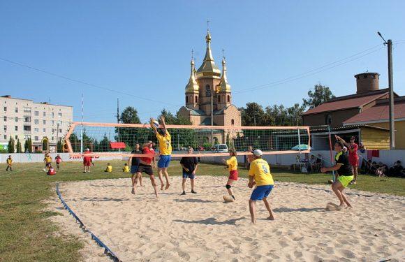 Відзначення Дня Ямпільської громади розпочалось зі спортивних змагань