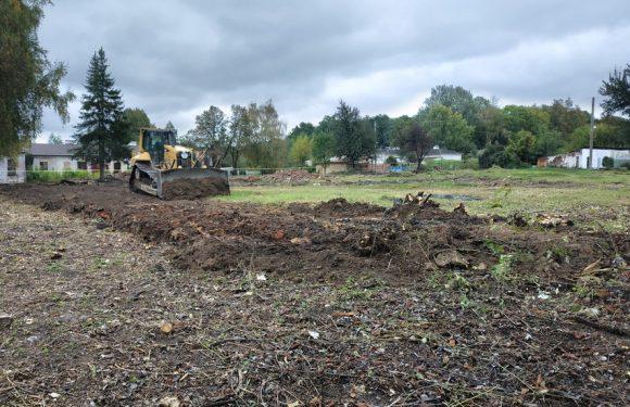 В Дружбі на місці руїн дитячого садочка планують побудувати спортивний майданчик