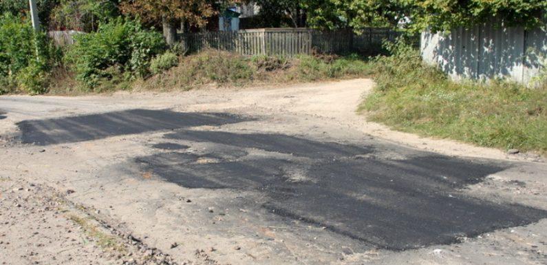 Ямковий ремонт дороги по вулиці Травневій в Ямполі обійдеться бюджету в 89 тисяч гривень