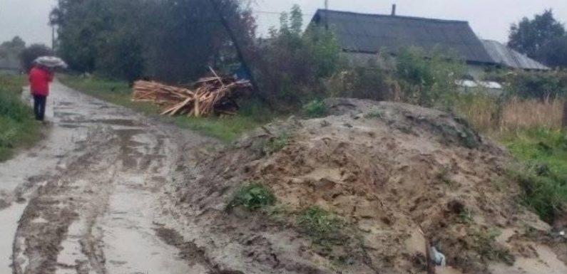 Дружбівчани скаржаться на дорогу по вулиці Сонячна