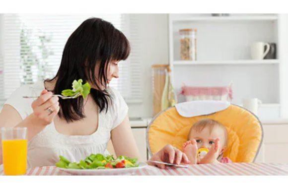 Каким должен быть рацион кормящей матери?