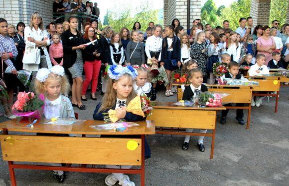 В Ямпільській громаді у перший клас пішла 61 дитина
