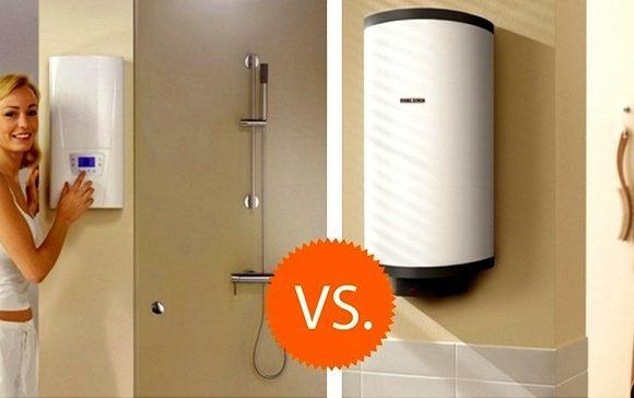 Какой водонагреватель лучше — плоский или круглый